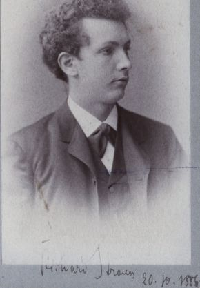Richard Strauss Aged 22